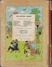 Verso de Tintin (Historique) -9B23- Le crabe aux pinces d'or