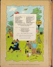 Verso de Tintin (Historique) -13B38Bis- Les 7 boules de cristal
