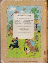 Verso de Tintin (Historique) -14B20- Le temple du soleil