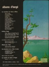 Verso de Tintin - Divers -C3a78- Tintin et le lac aux requins