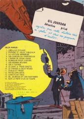 Verso de Gil Jourdan -3b81- La voiture immergée