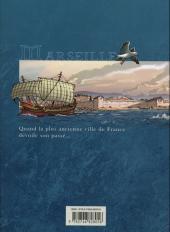 Verso de Histoire de Marseille -1- De la grotte Cosquer au Roi Soleil