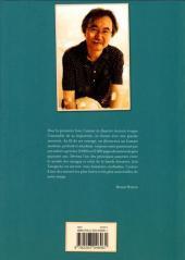Verso de (AUT) Taniguchi - L'homme qui dessine - entretiens