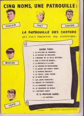Verso de La patrouille des Castors -7a- Le secret des monts tabou