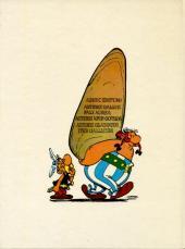 Verso de Astérix (en latin) -5'- Iter Gallicum