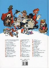 Verso de Spirou et Fantasio -53- Dans les griffes de la Vipère
