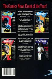 Verso de Batman (TPB) -INT- A Death in the Family