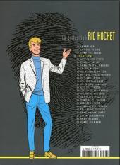 Verso de Ric Hochet - La collection (Hachette) -38- Face au crime