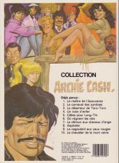 Verso de Archie Cash -2b.- Le carnaval des zombies