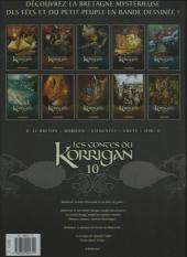 Verso de Les contes du Korrigan -10a- Livre dixième : L'Ermite de Haute Folie