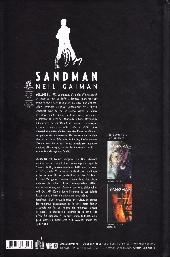 Verso de Sandman (Urban Comics) -1- Volume I