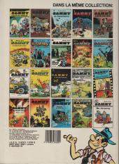 Verso de Sammy -10a1986- Nuit blanche pour les gorilles