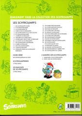 Verso de Schtroumpfs (L'univers des) -2- Noël chez les Schtroumpfs