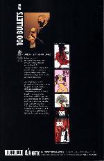 Verso de 100 Bullets (albums brochés) -17- Dernières cartouches