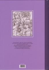 Verso de Yoko Tsuno -26TL- Le maléfice de l'améthyste - Esquisses d'une œuvre