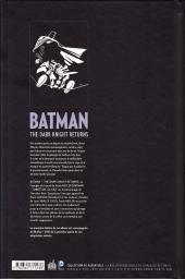 Verso de Batman - Dark Knight -INTb- The Dark Knight Returns