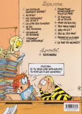Verso de L'Élève Ducobu -9Ind2- Le Fortiche de la triche