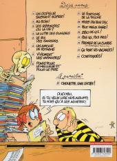 Verso de L'Élève Ducobu -8Ind2011- Punis pour le meilleur et pour le pire