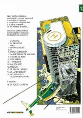 Verso de Largo Winch -11a07- Golden Gate