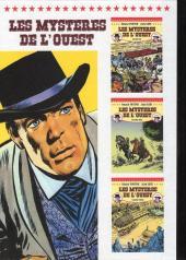Verso de Les mystères de l'Ouest -Pir Int3- Intégrale - Volume 3