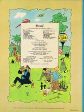 Verso de Tintin (Historique) -8B42- Le sceptre d'ottokar