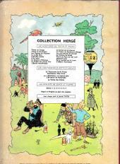 Verso de Tintin (Historique) -7B22bis- L'île noire