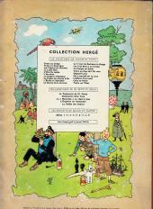 Verso de Tintin (Historique) -9B29- Le crabe aux pinces d'or