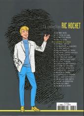 Verso de Ric Hochet - La collection (Hachette) -39- Le disparu de l'enfer