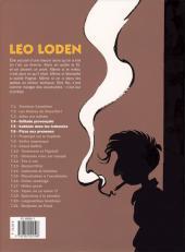 Verso de Léo Loden (Intégrale) -2- Intégrale 2