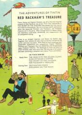 Verso de Tintin (The Adventures of) -12- Red Rackham's Treasure