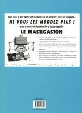Verso de Gaston (Sélection) -2- Le génie de Lagaffe