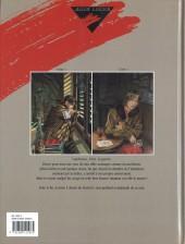 Verso de Le sursis -2- Tome 2