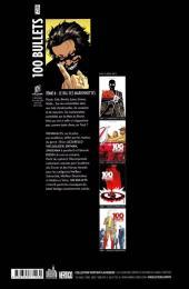 Verso de 100 Bullets (albums cartonnés) -6- Le Bal des marionnettes
