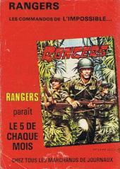 Verso de Z33 agent secret -128- Rendez-vous en Forêt Noire