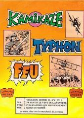 Verso de Kamikaze (Arédit) -12- Avion Ambulance