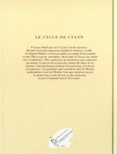 Verso de Le cycle de Cyann -5TL2- Les Couloirs de l'Entretemps