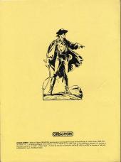 Verso de Zorro Géant (Greantori) -REC01- La rançon - la course au trésor