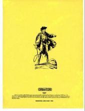 Verso de Zorro Géant (Greantori) -4- La malédiction de la cité pueblo