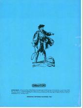 Verso de Zorro Géant (Greantori) -5- Les otages