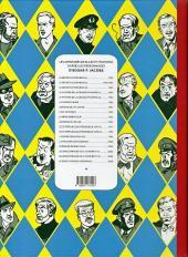 Verso de Blake et Mortimer -1Toilé- Le Secret de l'Espadon - Tome I - La Poursuite fantastique