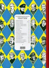 Verso de Blake et Mortimer (Les Aventures de) -2Toilé- Le Secret de l'Espadon - Tome II - L'Evasion de Mortimer
