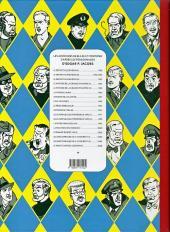 Verso de Blake et Mortimer -3Toilé- Le Secret de l'Espadon - Tome III - SX1 contre-attaque