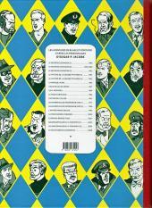 Verso de Blake et Mortimer (Les Aventures de) -6Toilé- La marque jaune