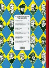 Verso de Blake et Mortimer -7Toilé- L'énigme de l'Atlantide