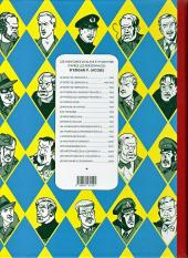 Verso de Blake et Mortimer (Les Aventures de) -10Toilé- L'affaire du collier