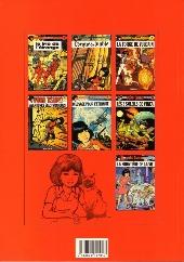 Verso de Yoko Tsuno -8- De la Terre à Vinéa