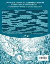 Verso de Le canon graphique -1- De L'Épopée de Gilgamesh aux Liaisons dangereuses