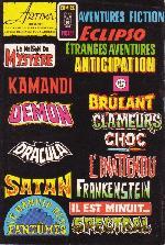 Verso de Le manoir des fantômes (1re série - Arédit - Comics Pocket)  -7- La crypte maudite