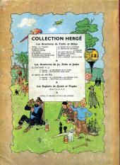 Verso de Tintin (Historique) -10B13- L'étoile mystérieuse