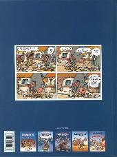 Verso de Les aventures de Sarkozix -5- Sarkozix contre Hollandix